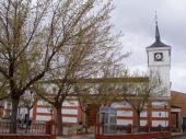 Panorámica de la Plaza de las Labores con la Iglesia de San Carlos de Borromeo al fondo